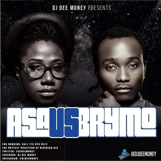 [Mixtape] Asa vs BrymO By DJ Dee Money - 61.57 Mb