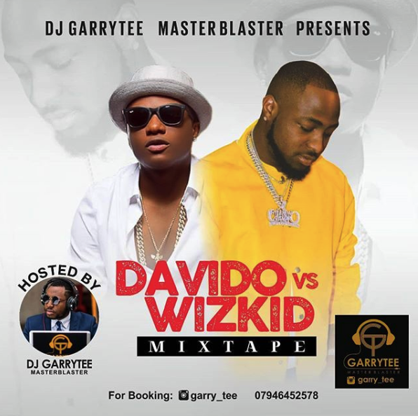 2018 DAVIDO Vs WIZKID Mix – DJ Garrytee