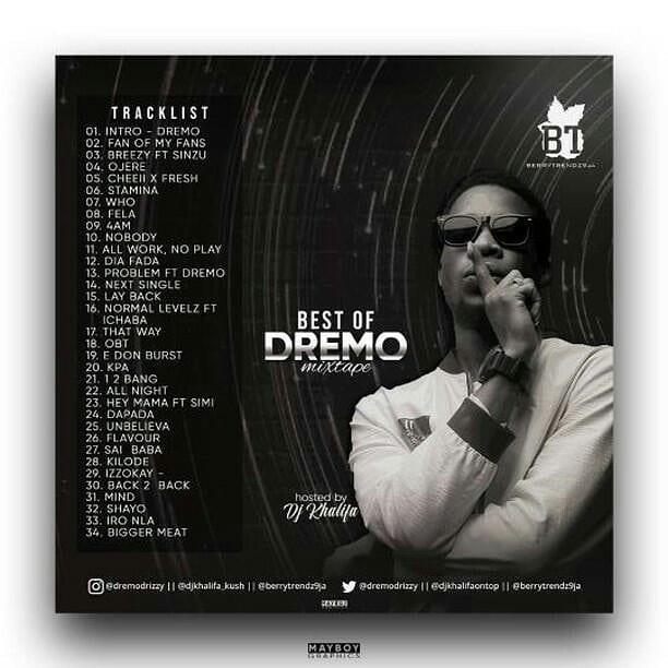 Best Of Dremo Songs Dj Mixtape