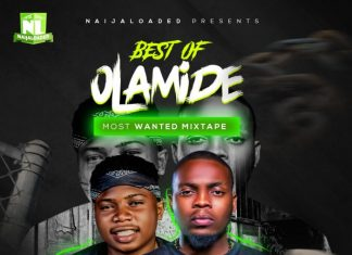 DJ PlentySongz – Best Of Olamide Mega Mix 2019