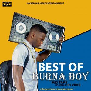 DJ Vibez Best Of Burna Boy Mix 2019