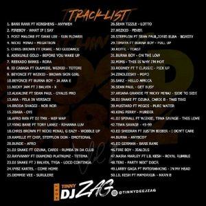 Tinny Dj Zag – Nothin But Good Vibez Mix (Hot Mixtape)
