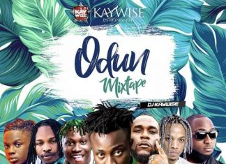 "Latest DJ Kaywise - New AfroBeat ""Odun Mix"""