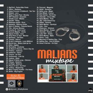 Dj Joan – Marlians Zero Manners Party Mixtape