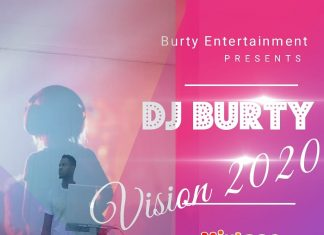 Dj Burty - Vision 2020 Mixtape (Naija Party Songs)