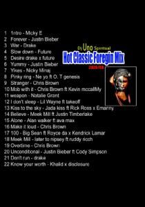 Dj Uno Spiritual - Hot Classic Foreign Mix 2020