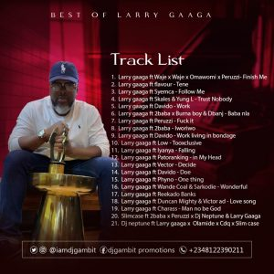 Dj Gambit – Best Of Larry Gaaga Mixtape