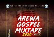 Dj Bombo - Arewa Worship Gospel Mixtape  Vol.2
