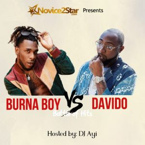 "DJ Ayi – ""Davido Vs Burna Boy"" (Battle Of Hits Mix)"
