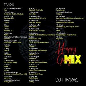 DJ Himpact - Happy Geng Mix (Naija & Foreign Birthday Party Mixtape)