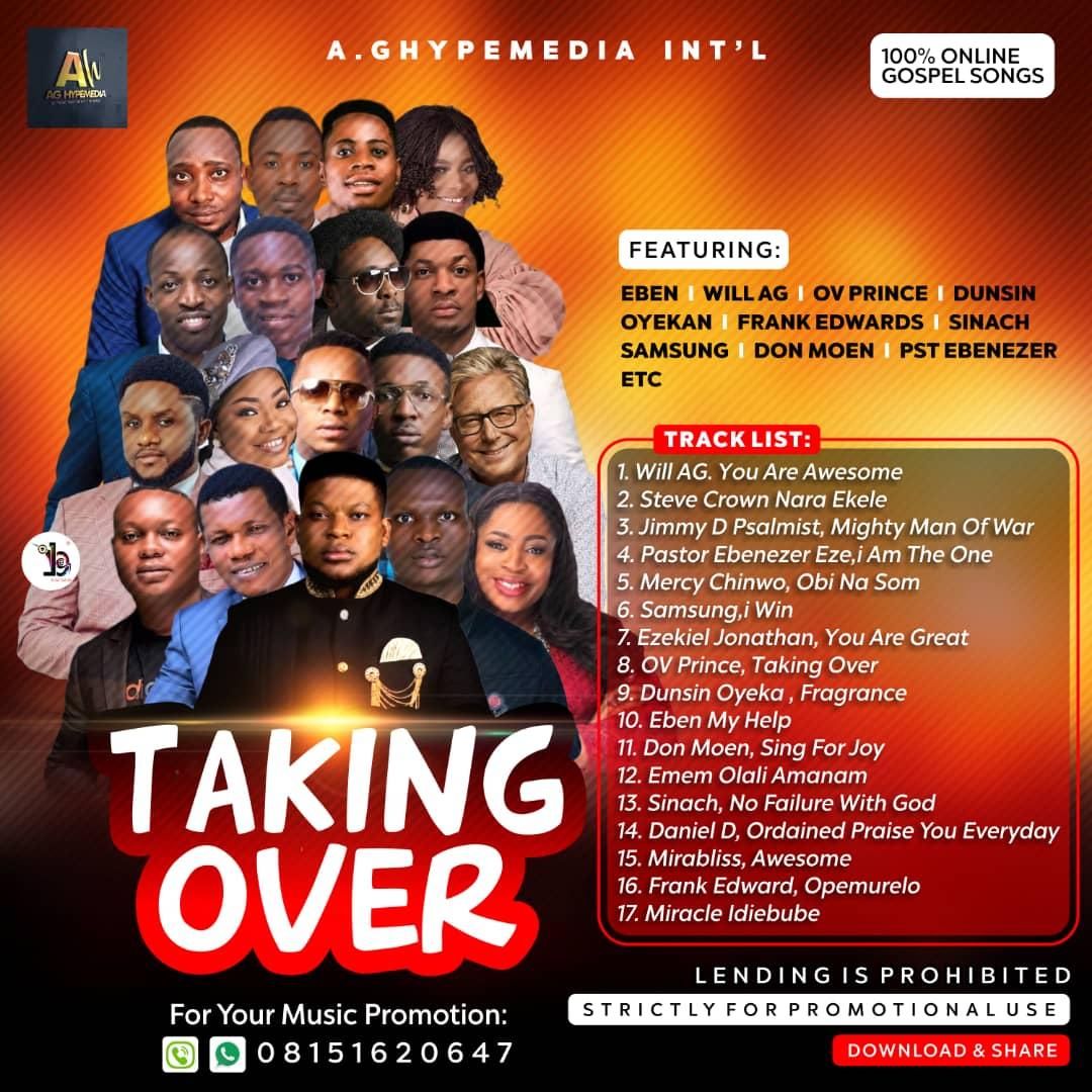 Dj Oyinzi - Taking Over Gospel Mix (2020 Christian Mp3 Songs) Fast Download