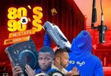 Deejay Water (H2O) – Oldies 80's & 90's Mixtape