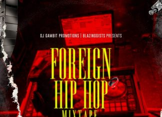 DJ Gambit - Foreign Hip Hop Mixtape (Latest Foreign Songs)
