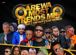 Supercool Dj Atom - Arewa Most Trends Mix Vol.2 (Hausa Hip Hop/Rap Songs)